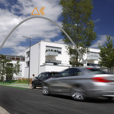Car-to-x technologies allow the car to see beyond the site of the driver
