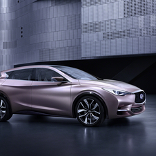 The Q30 is meant as a premium hatchback that is due in around 2015