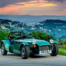 The 160 is Caterham's latest entry level model