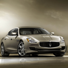 The engines will come from the Quattroporte and the platform will come from the 4C