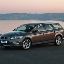 Ford Mondeo SW 2.0 Flexifuel S