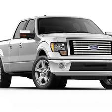 Ford F-Series 145-in. WB Lariat Limited Styleside SuperCrew 4x2
