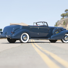Cadillac V-16 Convertible Sedan by Fleetwood
