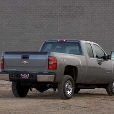 Chevrolet Silverado 2500HD Extended Cab 4WD Work Truck Standard Box