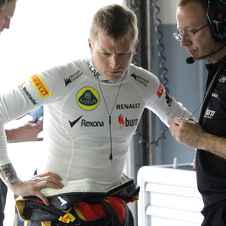 Raikkonen's contract with Lotus runs out at the end of the season