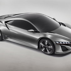 The production NSX will be larger than the prototypes but with the same styling