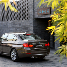 The 3 Series Long Wheelbase is only sold in China