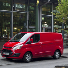 Ford Transit Custom Van 270S Econetic Base 2.2TDCi Curta - Teto normal