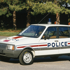 Citroën Visa II Super X Police Car