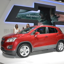 Chevrolet Trax Set for Paris Debut