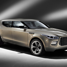 The Lagonda SUV was shown at the 2009 Geneva Motor Show to a lackluster reception