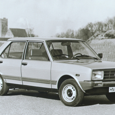 Fiat 131 Mirafiori 1300 5-speed