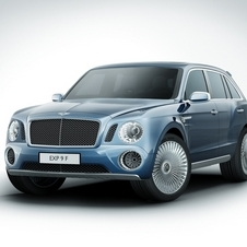 The new Bentley SUV is inspired on the EXP 9 F concept