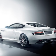 Aston Martin DB9 Carbon White