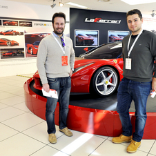 Afterward, they were able to tour the Ferrari factory