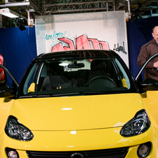Girsky was on hand at the debut of the Opel Adam