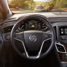 The interior gets an upgrade with higher quality materials and a standard 8in infotainment display