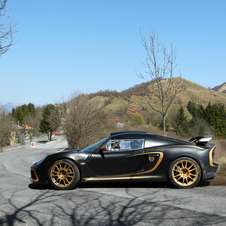 Lotus Testing Exige R-GT for Tarmac of St Remo Rally