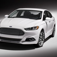 The new Fusion will be on sale in the US in the early fall