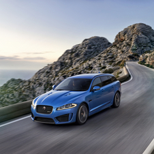 The XFR-S Sportbrake manages to accelerate from 0-100km/h in 4.8 seconds