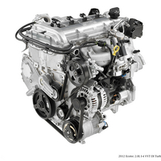 The 2.0l Ecotec engine produces 250hp and 260lb-ft of torque