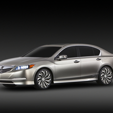 Acura RLX Concept Shows Future Acura Flagship Sedan
