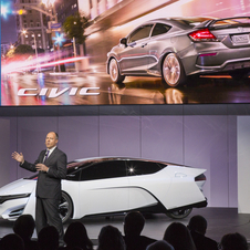The FCEV previews Honda's 2015 fuel cell vehicle