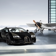 O Black Bess Bugatti Legend é baseado no Veyron 16.4 Grand Sport Vitesse de 1200PS