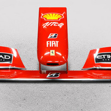 The F60 front wing sold for 25,000 Euro