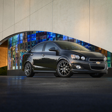 The Sonic Dusk is inspired by a concept shown in 2011 at the SEMA Show meant to bring more luxury to the Sonic
