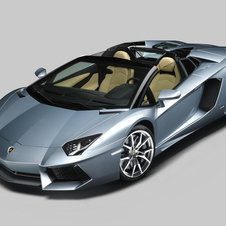 The Aventador Roadster is the first variant on the Aventador since its introduction