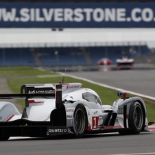 Audi is hoping for rain at Silverstone