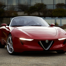 Alfa Romeo imagined a next generation roadster in 2010