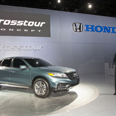 Honda Crosstour Concept Looks Just Like the Old Crosstour