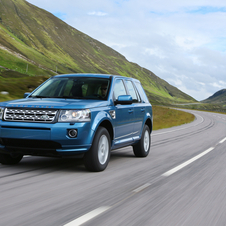 The Freelander 2 now is borrowing more parts from the Evoque