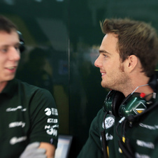 Van der Garde has an extensive history in GP2 and F1 testing