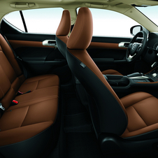 The interior gets a major upgrade in terms of quality