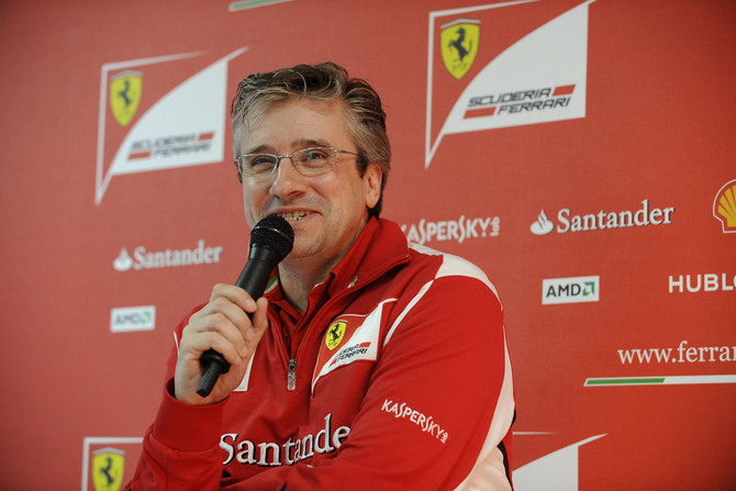 Fry has not been happy with the F2012 all season