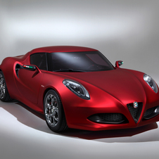 A 4C convertible would come a year after the coupe