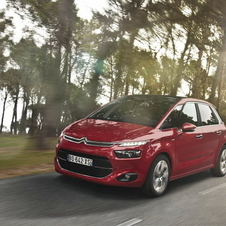 Citroën C4 Picasso 1.6 e-HDi Exclusive