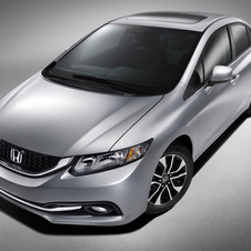 The new design is a reaction to the poorly received new Civic