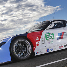 The car is a modified version of the Z4 GT3