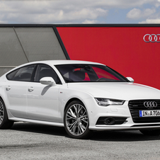 Audi A7 Sportback 3.0 TDI competition clean diesel quattro tiptronic