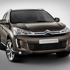 Citroen C4 Aircross Brings Compact SUV to Citroen Range