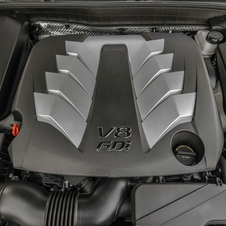 It is the first time that Kia has offered a V8 in the US