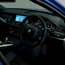 The M5 gets M Sport multi-function seats with lumbar support.