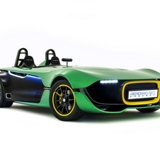 The Caterham AeroSeven originally debuted at the Singapore Grand Prix