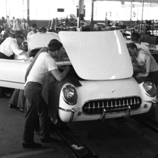 The earliest cars were made by hand
