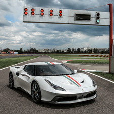 The 458 MM Speciale is based on the 458 Speciale