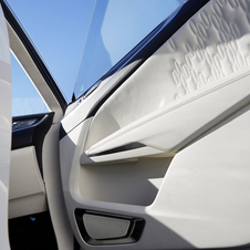 Detalhe interior do Lincoln MKC